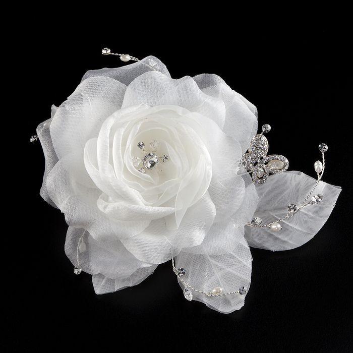 Blüten Haargesteck zur Hochzeit