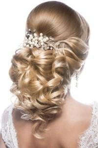Brauthaarschmuck fur blonde Haare