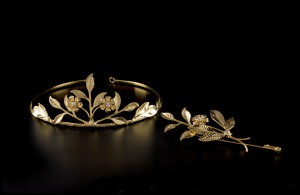 Diadem in gold