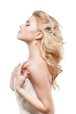Haargesteck für blonde Haare